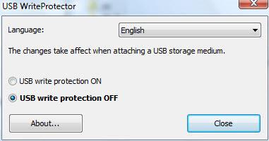 Impedire scrittura su chiavetta USB