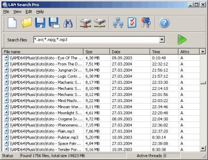 Ricerca File e Documenti in rete Lan