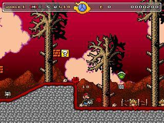 Super Mario Bros Battaglia di sangue