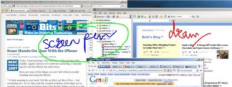 Penna virtuale per presentazioni desktop Computer Windows