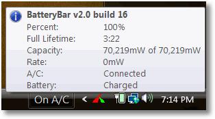 Freeware per misurare capacit� batteria portatile