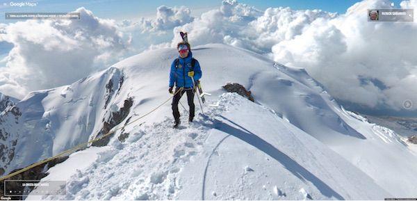 Monte Bianco immagini panoramiche