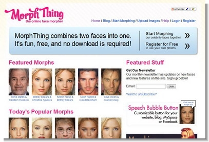 Morphing Online Service