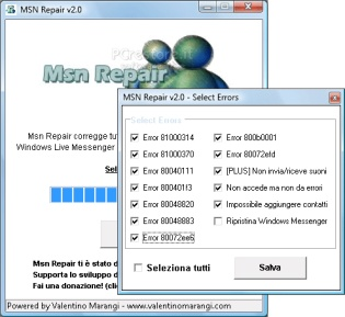 Riparare Msn Messenger