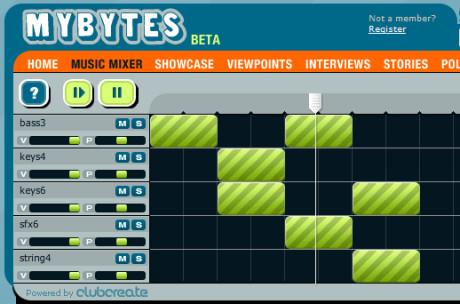 Creare Musica con Mixer Online