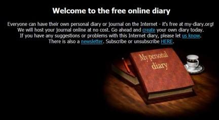 Diario Segreto Online Servizio Gratuito