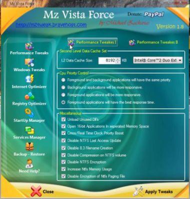 Programma Gratis per Velocizzare Windows Vista