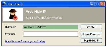 Programma Gratis per Nascondere il proprio Ip