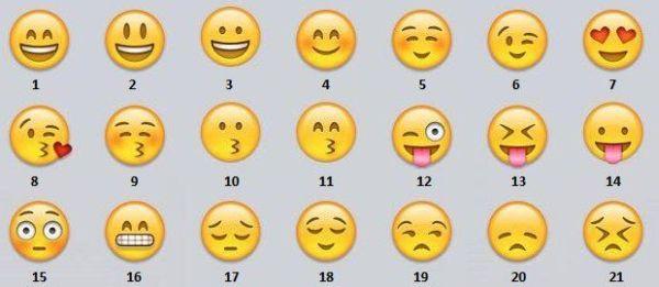 nuove emoticons per WhatsApp