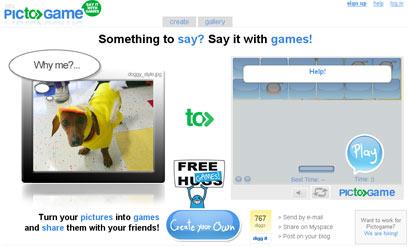 Creare Giochi Flash Gratis con PictoGame