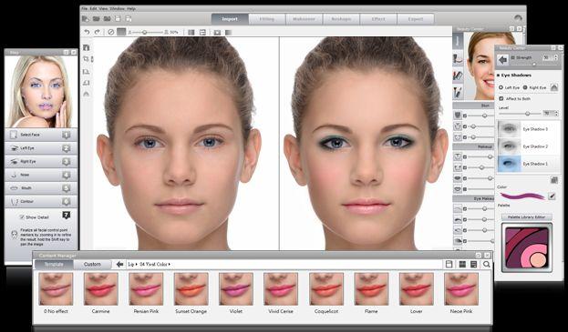 modificare viso con un programma professionale