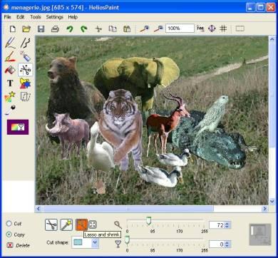 Programma Gratis per Grafica e Fotoritocco HeliosPaint