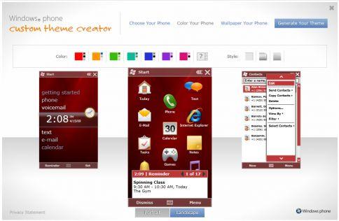 Programma per creare temi windows mobile