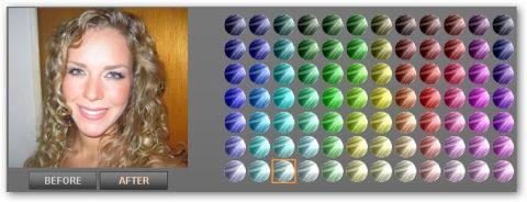 Test Nuovo Colore Capelli