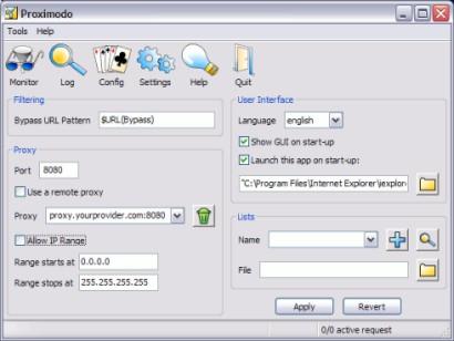 Software Opensource Navigazione Anonima Proximodo