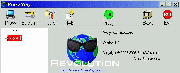 Programma Gratis per navigare anonimi in Internet - ProxyWay