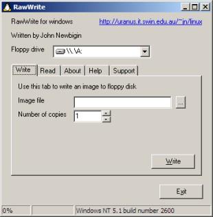 Crare Immagine di Floppy Disk