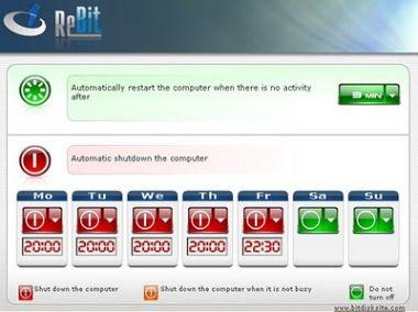 Spegnere e Riaccendere automaticamente il Computer con Freeware