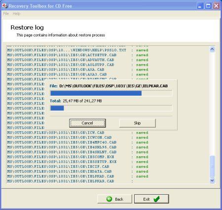 Recuperare dati ed Immaginid a Cd o DVD