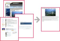 Seleziona e stampa parti di una pagina web