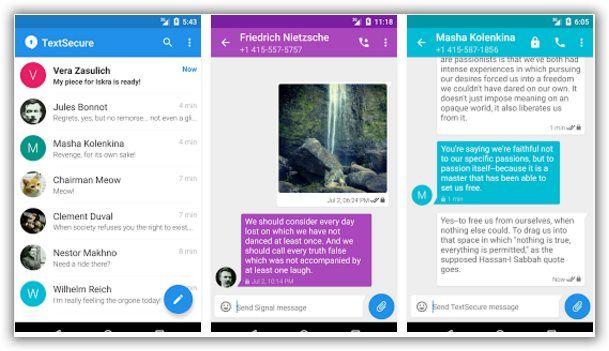 telefonate e messaggi criptati con android