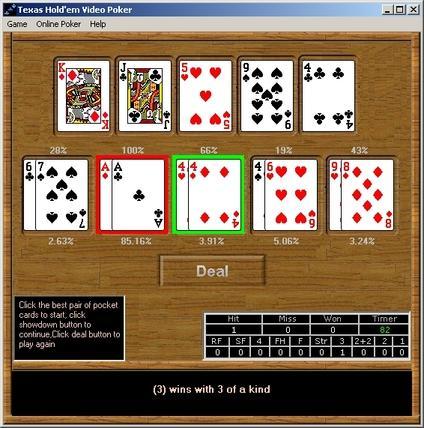 Poker Gratis Texas Holdem