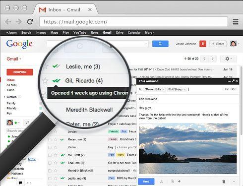 tracciare email spedite e verifica lettura