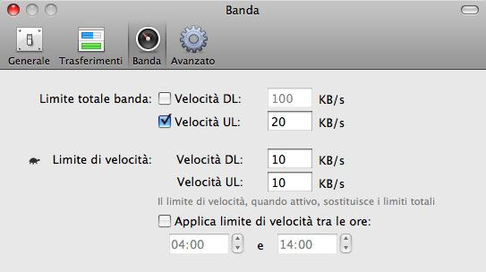 torrent transmisison in italiano