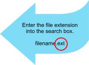 Trovare programma associato estensione file