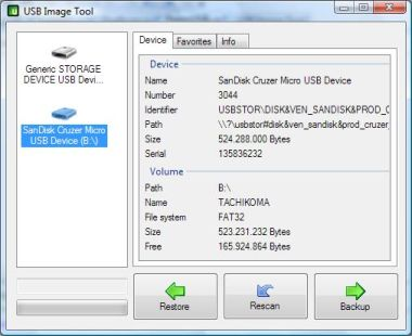 Backup Totale Chiavetta Usb