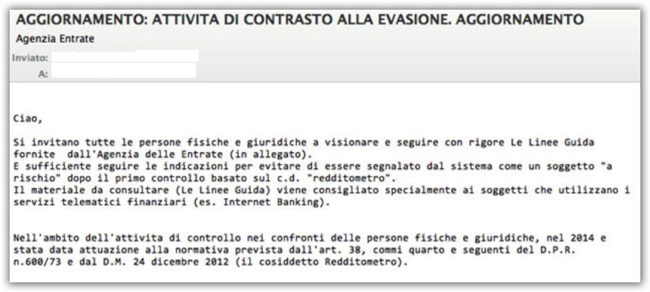 virus email cryptolocker equitalia