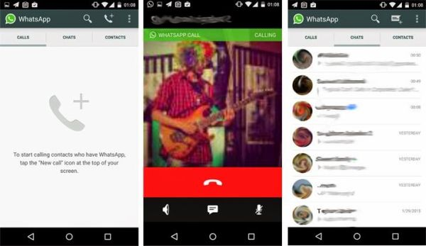 chiamate vocali whatsapp con iPhone