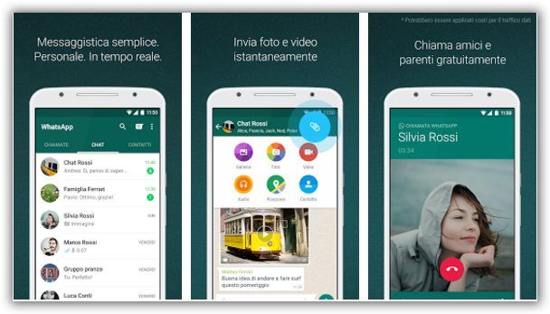 Whatsapp invio documenti pdf