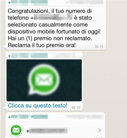 whatsapp virus con riscatto crittograto