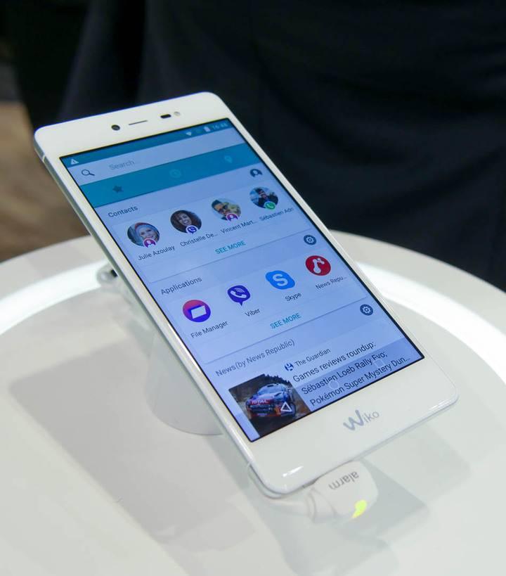 smartphone Wiko fever special edition economico