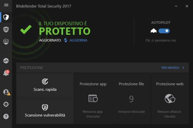 Miglior antivirus gratuito Bitdefender