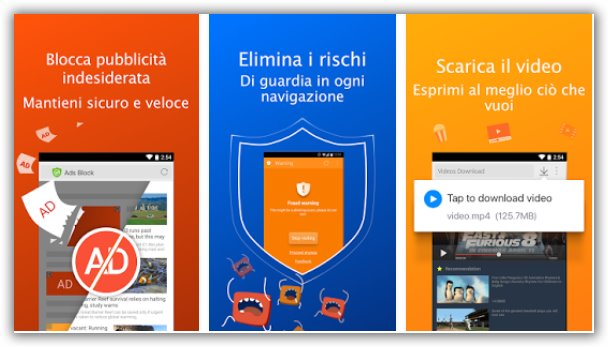 browser per Android lento