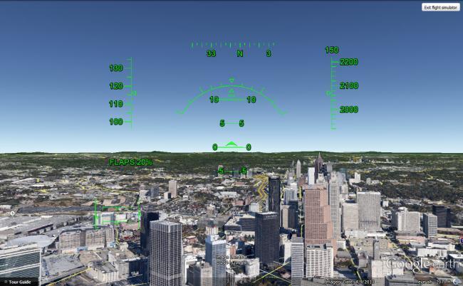 simulatore volo gratuito