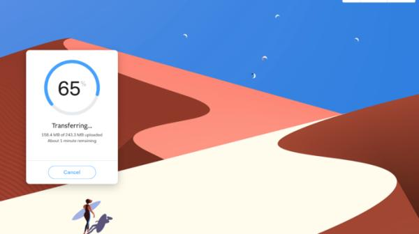 come inviare grossi file con WeTransfer