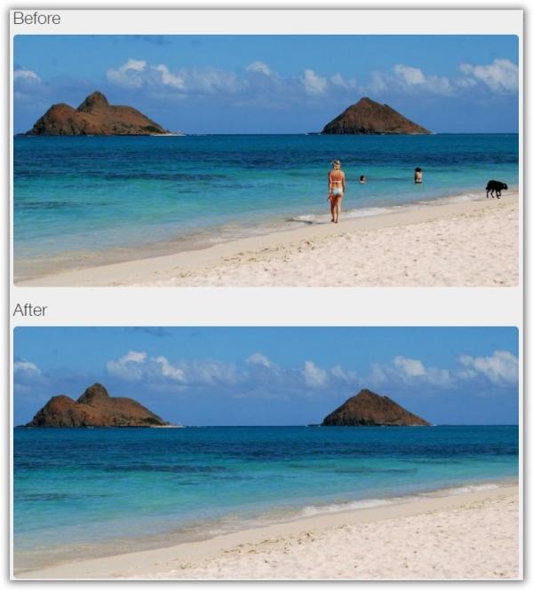 Strumenti Online Per Eliminare Oggetti Da Una Foto