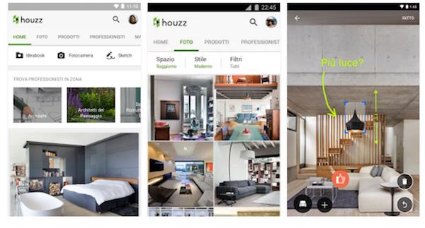 Migliore app per arredare casa houzz venite a scoprire for App per arredare casa gratis