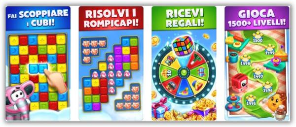 Toy Blast gioco gratis Android iPhone