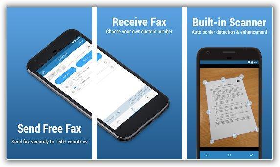 inviare fax con il cellulare