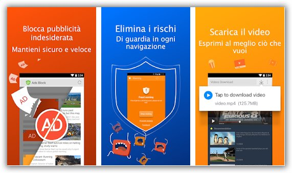 migliore browser android pe rla privacy