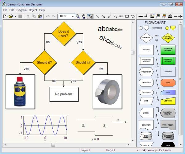 migliori programmi gratuiti diagrammi di flusso designer
