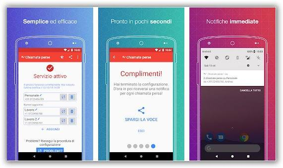 app android chiamate perse
