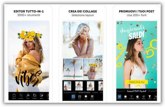 editor app cellulari picsart