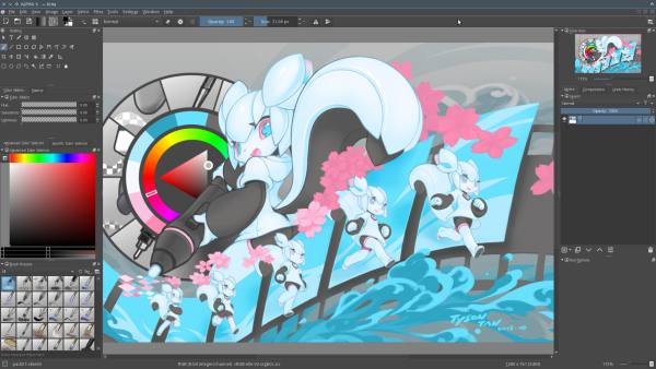 alternativa a photoshop, Krita