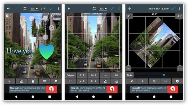 alternativa a photoshop android con photoeditor