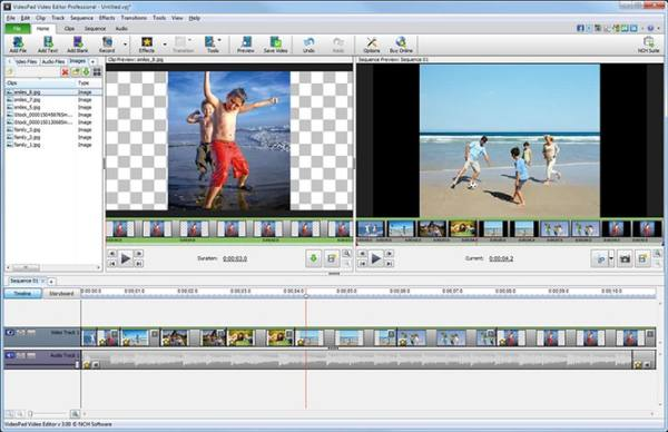 video montaggio gratis programma